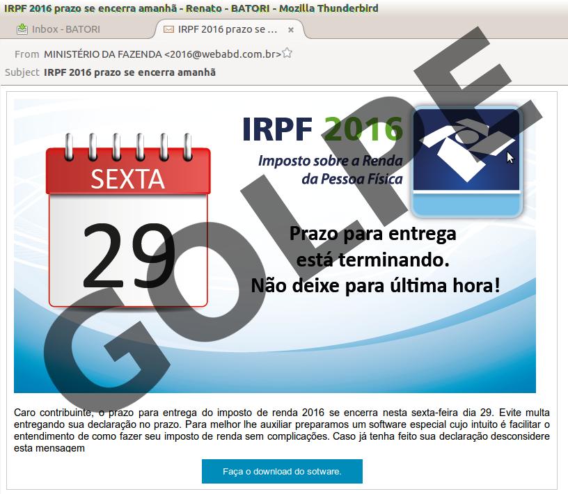 phishing-IRPF2016